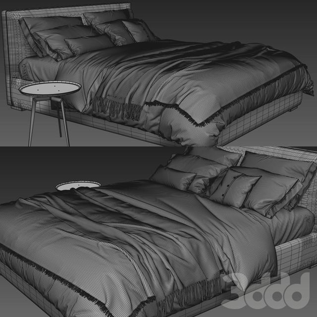 Meridiani Stone Plus Bed