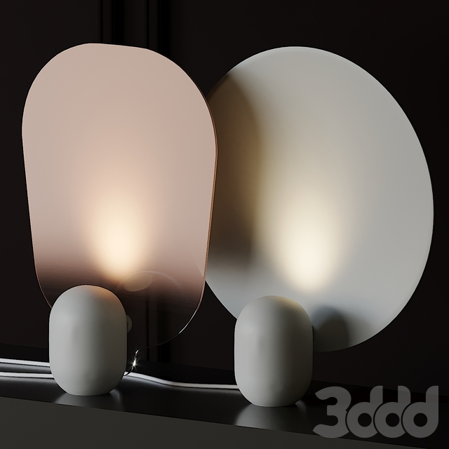 Gradient Table Lamp by Studio Wm