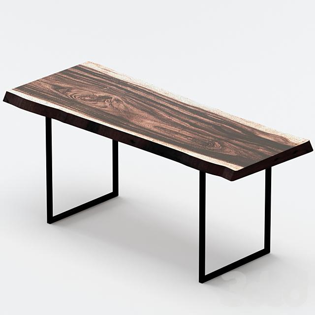 Журнальный столик из слэба.