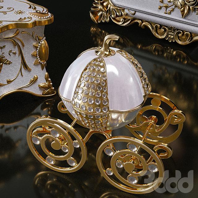 Gold Giftgarden  Decor Set
