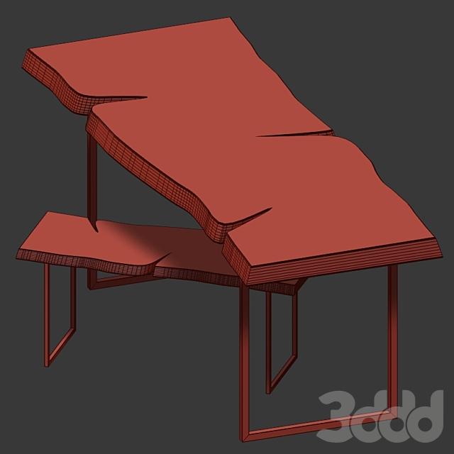 Столы из слэба.