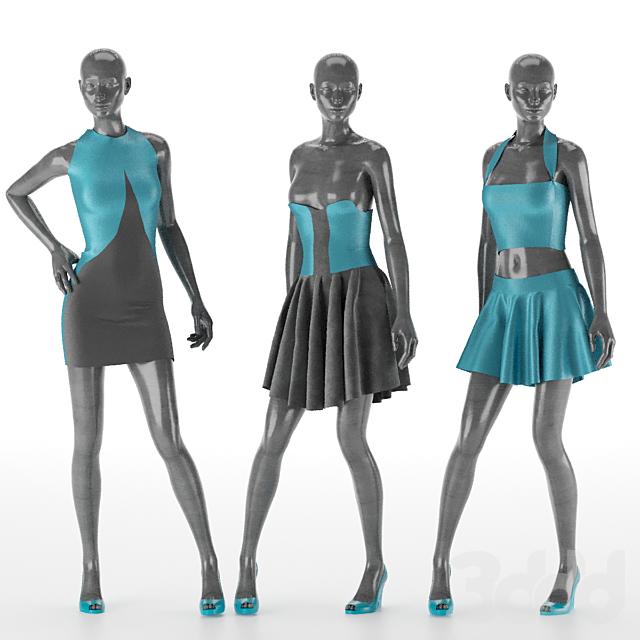 Women Dress Set No.3