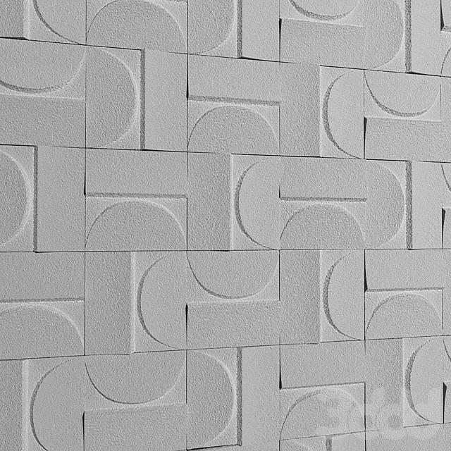 Kenzan wall tiles