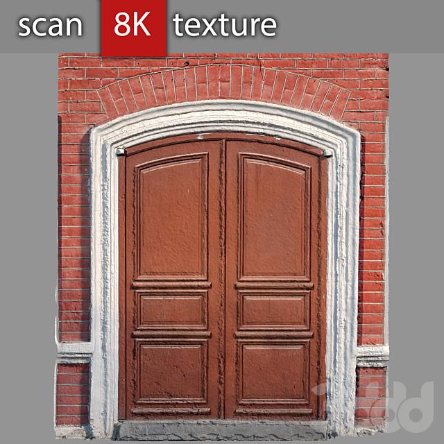 Дверь в кирпичной стене 63