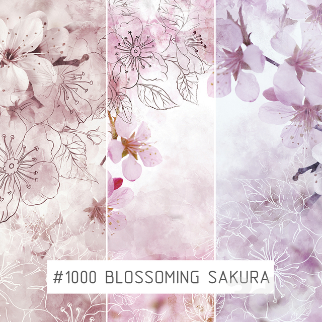 Creativille | Wallpapers | Blossoming sakura 1000