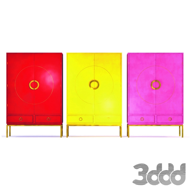 Wardrobe Disk  Set 3 colors