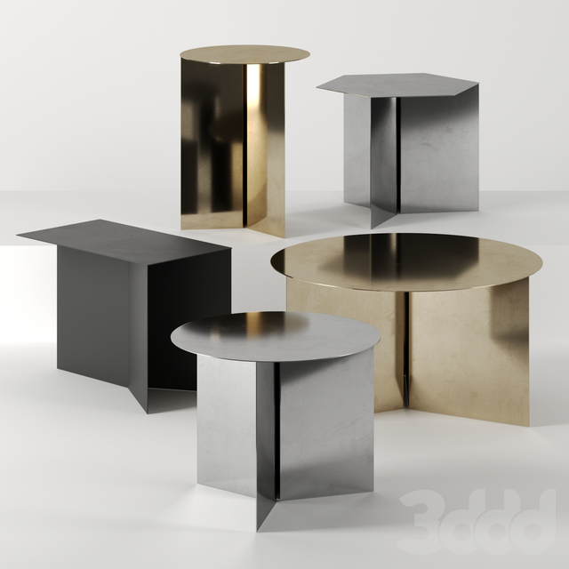 SLIT TABLES by HAY