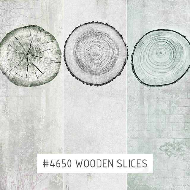 Creativille | Wallpapers | Wooden slices 4650