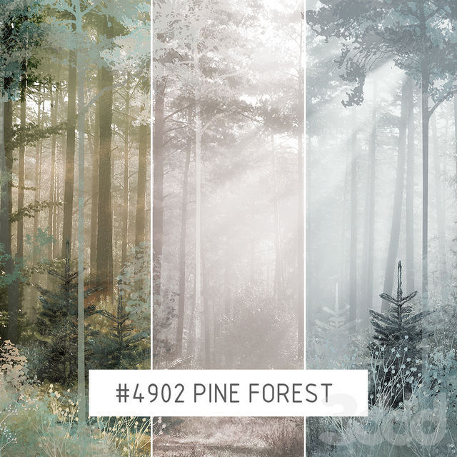 Creativille | Wallpapers | Pine forest 4902