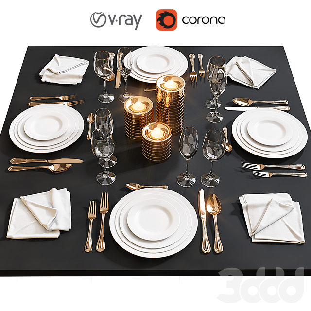 Сервировка стола / Table setting 17