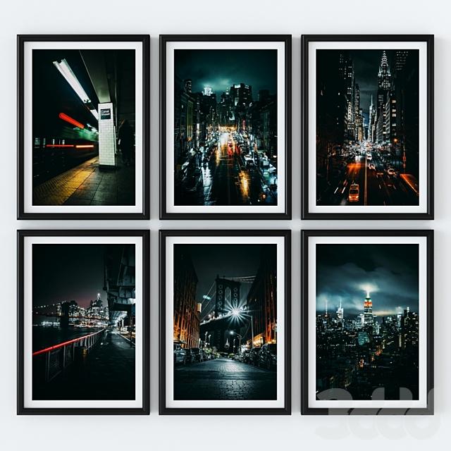 Постеры - Нью-Йорк