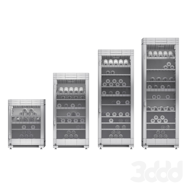 Коллекция винных холодильников Fisher and Paykel \ Fisher and Paykel wine coolers set