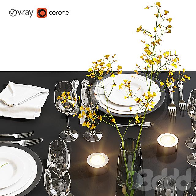 Сервировка стола / Table setting 19