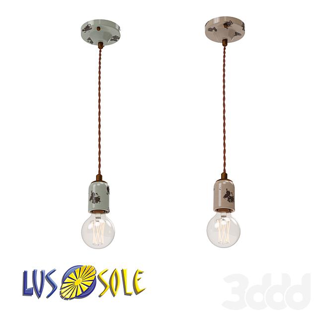 OM Подвесной светильник Lussole Loft Vermilion LSP-8159, LSP-8160