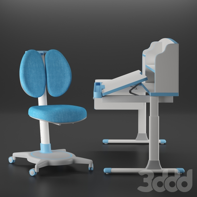 Kid desk and chair