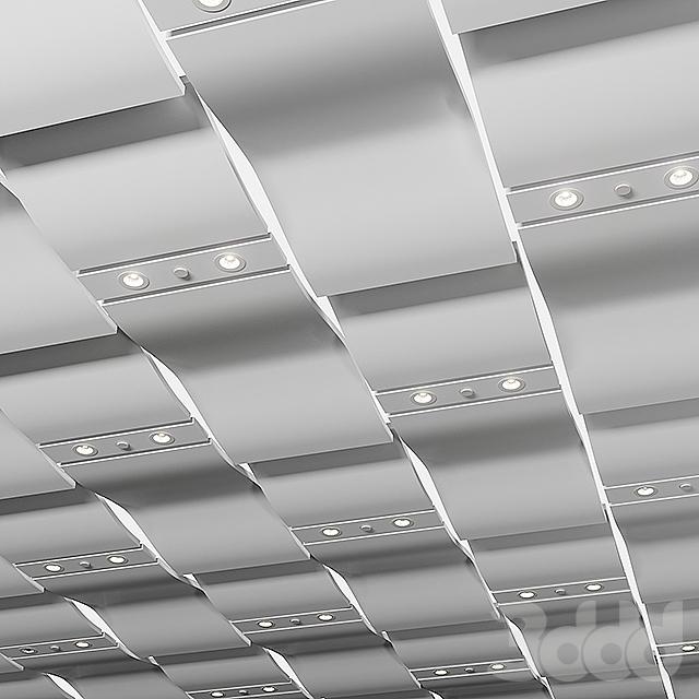 Модульный подвесной потолок