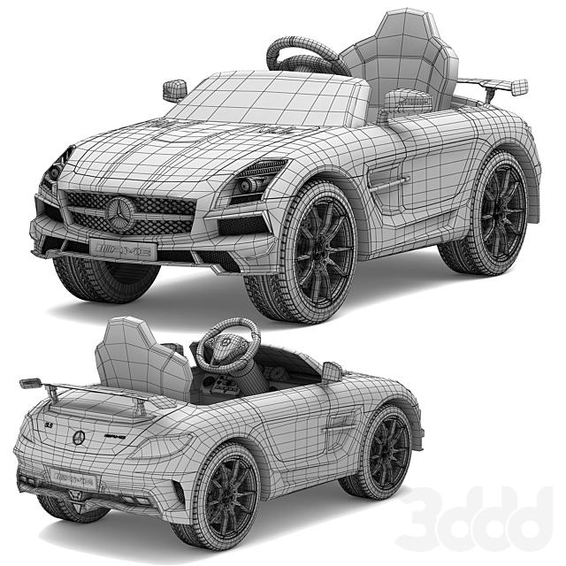 Детский электромобиль Mercedes-Benz SLS AMG