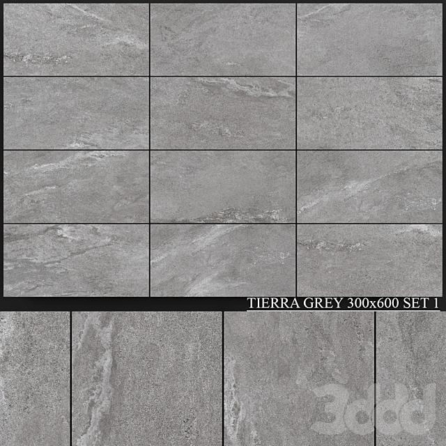 Yurtbay Seramik Tierra Grey 300x600 Set 1