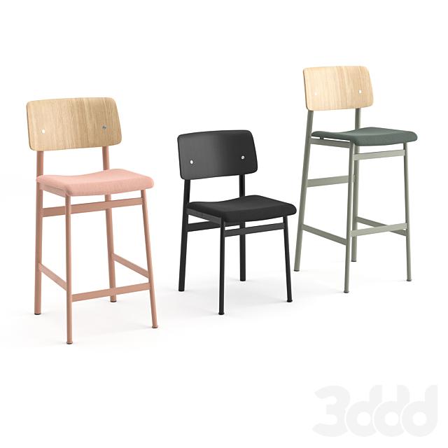 Loft family chairs by Muuto
