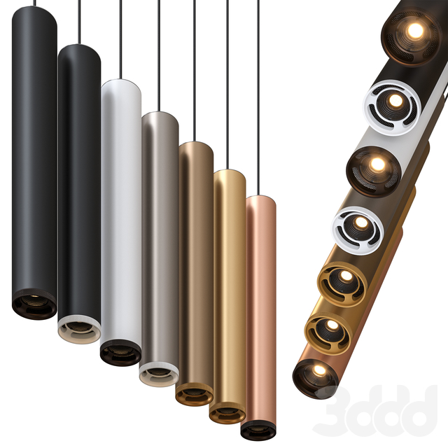 Olev Beam Stick 80 Pendant Lamp by Marc Sadler Pack 1