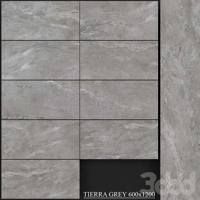 Yurtbay Seramik Tierra Grey 600x1200