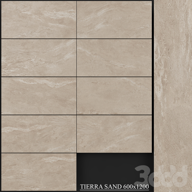 Yurtbay Seramik Tierra Sand 600x1200