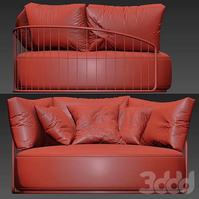 CHARLESTON round sofa