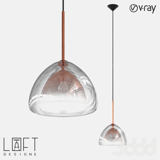 Подвесной светильник LoftDesigne 10886 model