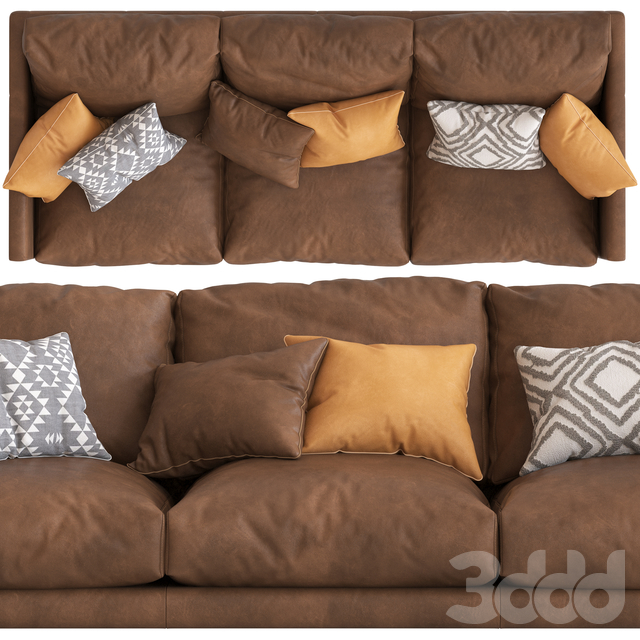 Temple&Webseter Carson 3_Seater Sofa