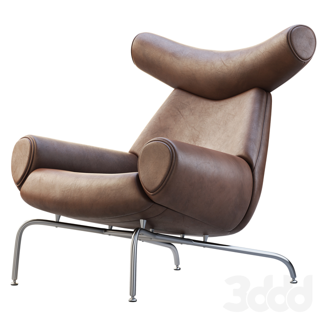 The Ox Chair and Ottoman
