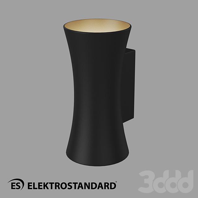 ОМ Уличный настенный светодиодный светильник Dual Elektrostandard 1501 TECHNO LED