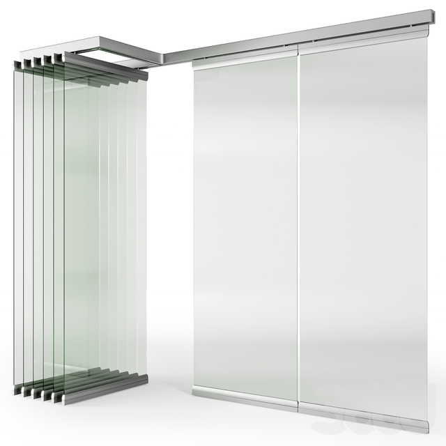 Glass Sliding Partition Walls
