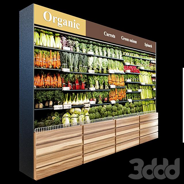 Vegetables fridge