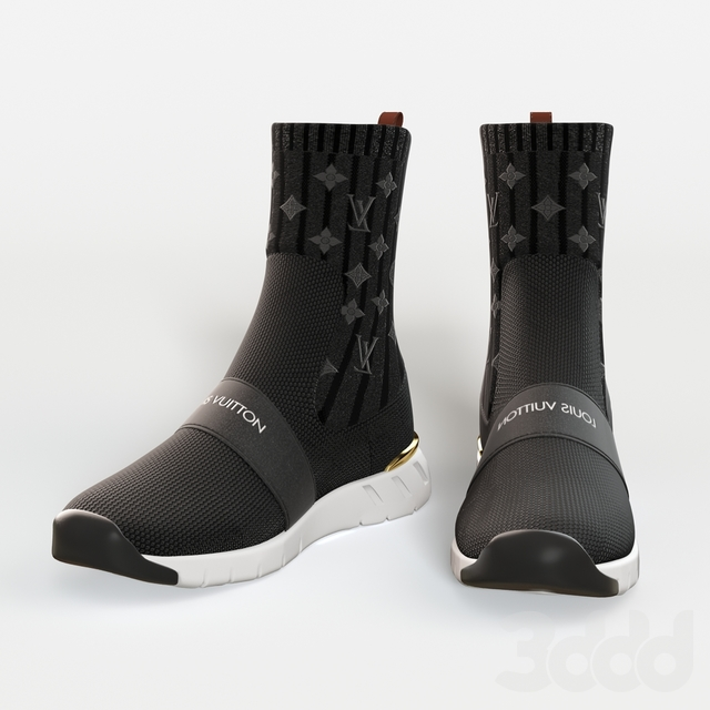 louis vuitton AFTERGAME SNEAKER BOOT