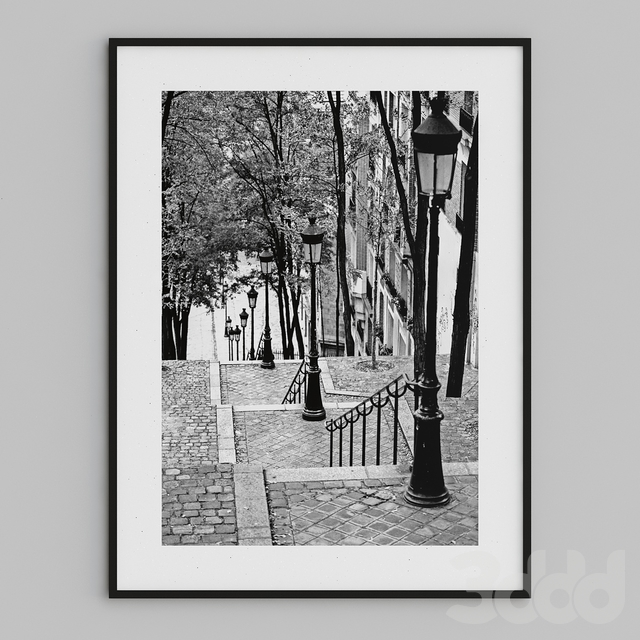 stairs in monmartre