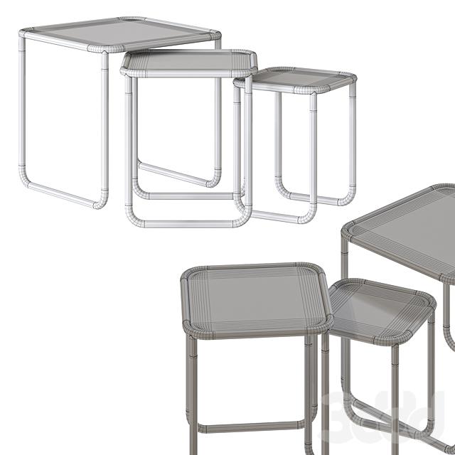 Gianfranco Ferre Home Pigneto Tables