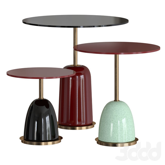Pins Side Table by Marioni
