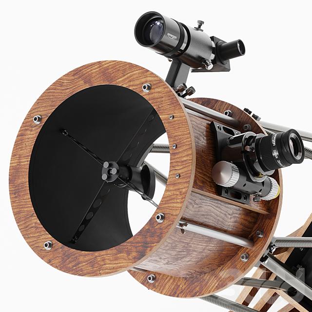250 мм. телескоп на монтировке Добсона