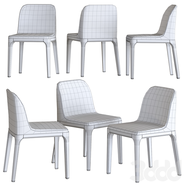 Gilda Chair from Tonin Casa