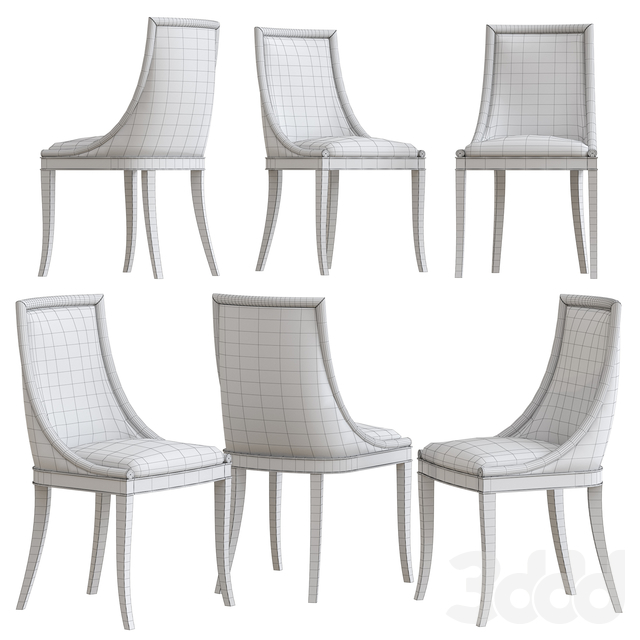 Shirley Padded Chair by Marioni