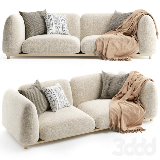 Paola Lenti MELLOW Sofa 2 seater