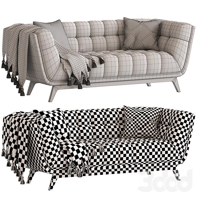 Cult Furniture Magnus 3 Seater Sofa