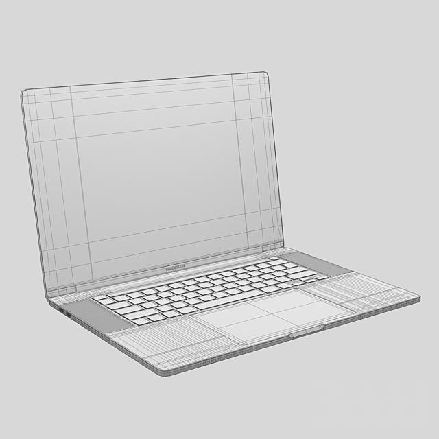 MacBook Pro 16 silver