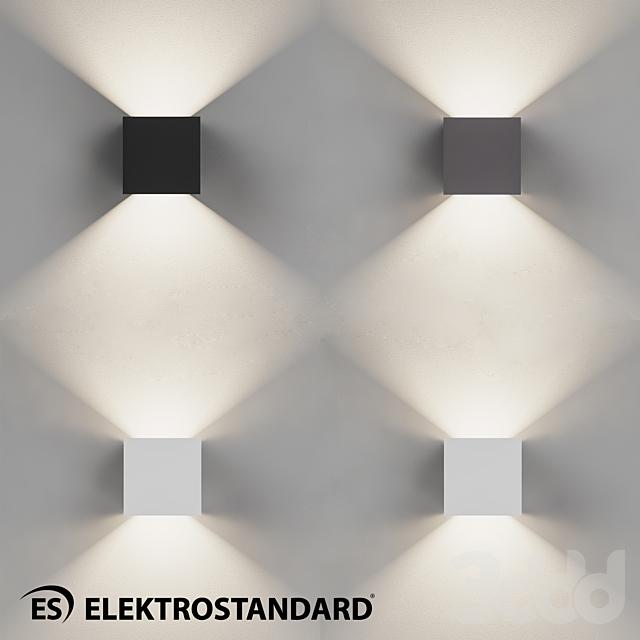 ОМ Уличный настенный светодиодный светильник Elektrostandard 1548 TECHNO LED