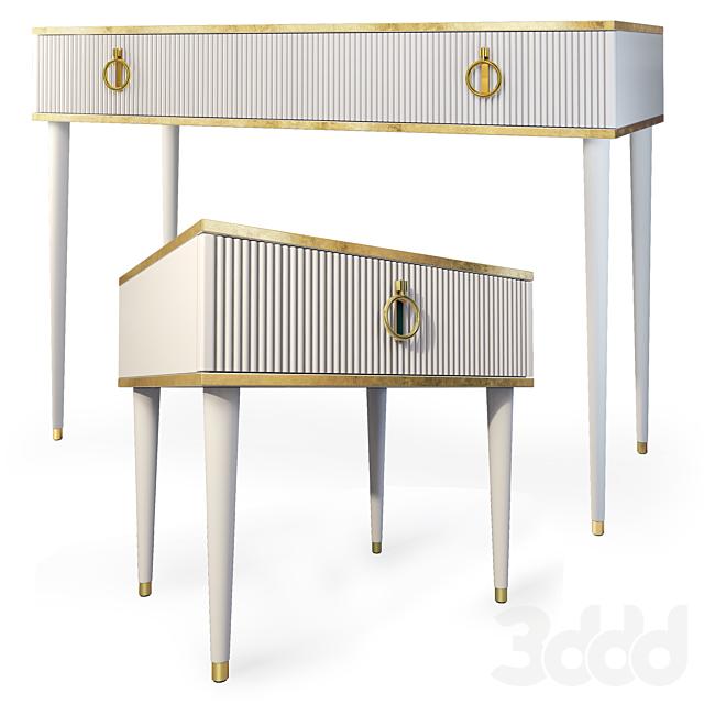 Комод / консоль и тумба Rimini Solo, Мебель Ярцево. Dresser, nightstand.