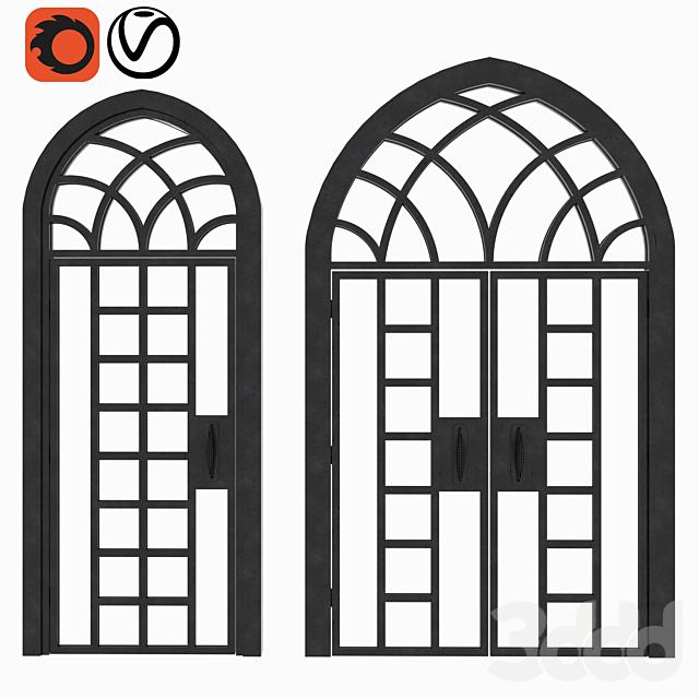 Arch Doors Animated Set