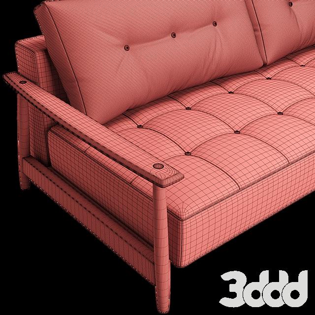 Eluma Deluxe Button Sofa