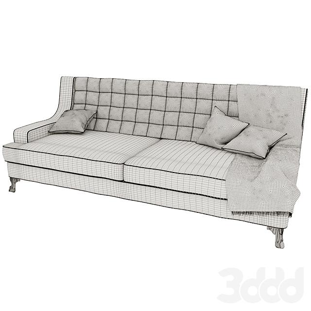 "Диван ""Флерон"" диван 3-х местный от фабрики Белфан"