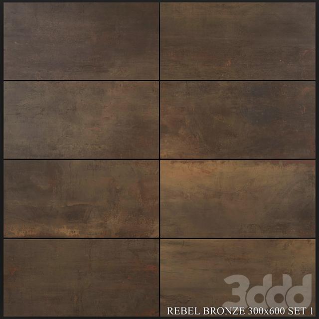 Flaviker Rebel Bronze 300x600 Set 1