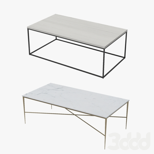 West Elm / Rectangle tables collection
